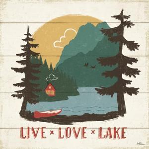 Vintage Lake VII by Janelle Penner