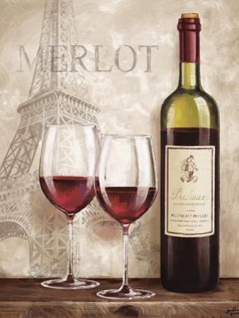 Wine in Paris III by Janelle Penner