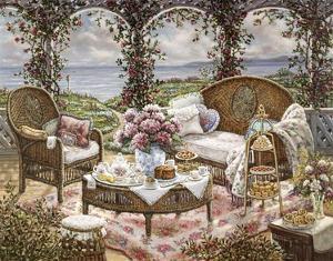 Afternoon Tea by Janet Kruskamp