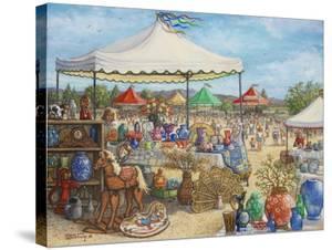 Antique Fair by Janet Kruskamp