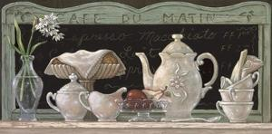 Cafe du Matin by Janet Kruskamp