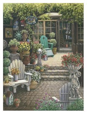 Miss Trawick's Garden Shop by Janet Kruskamp