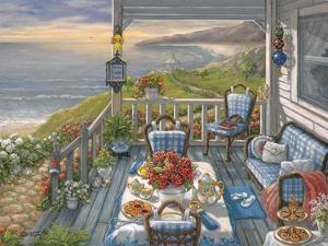 Sea Side Inn by Janet Kruskamp