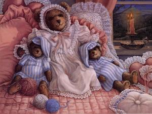Sleepy-Time Bears by Janet Kruskamp