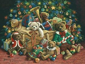 Teddy Bear Christmas by Janet Kruskamp