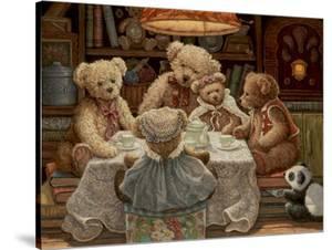 Teddy Bear Tea Party by Janet Kruskamp