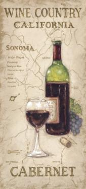 Wine Country II by Janet Kruskamp