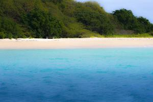 Buck Island, Saint Croix, Us Virgin Islands. Soft Focus of the Beach by Janet Muir