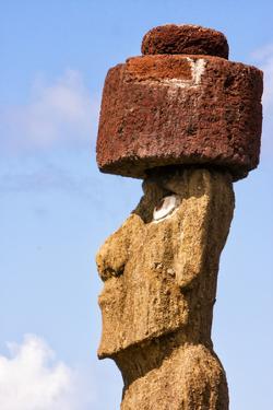 Rapa Nui National Park, Easter Island. Moai Statue by Janet Muir