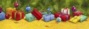 Christmas Border 1 by Janet Pidoux