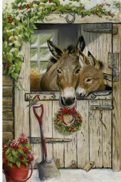 Christmas Donkies by Janet Pidoux