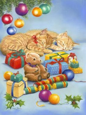 Christmas Kittens by Janet Pidoux