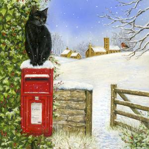 Christmas Post Box by Janet Pidoux