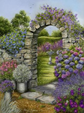 Cottage Garden by Janet Pidoux