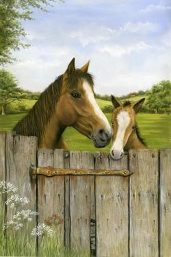 Mother and Foal by Janet Pidoux