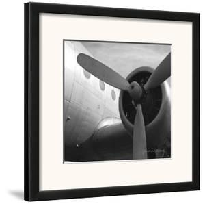 Vintage Flight III by Janet Van Arsdale