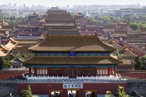 Forbidden City, China, Beijing, Asia by Janette Hill