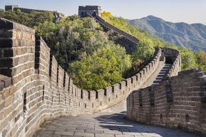 Great Wall of China, UNESCO World Heritage Site, Mutianyu, China, Asia by Janette Hill