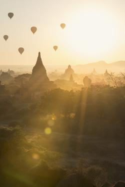 Temples of Bagan (Pagan), Myanmar (Burma), Asia by Janette Hill