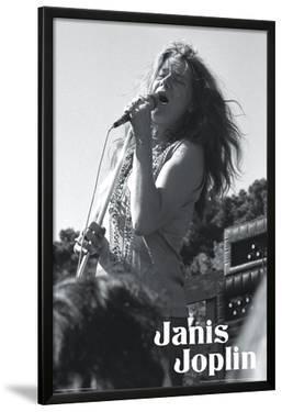 Janis Joplin - B&W