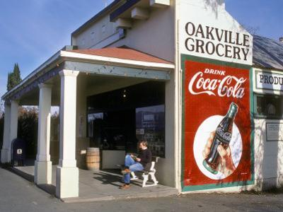 Oakville Grocery, Oakville, Napa Valley, California, USA by Janis Miglavs