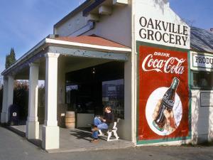 Oakville Grocery, Oakville, Napa Valley, California, USA by Janis Miglavs