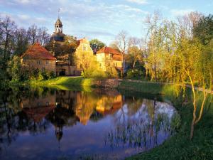 Straupe Castle, Gauja National Park, Latvia by Janis Miglavs