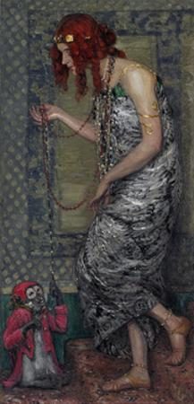 The Princess and the Monkey, 1913