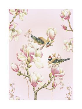 Magnolia Birds by Janneke Brinkman-Salentijn