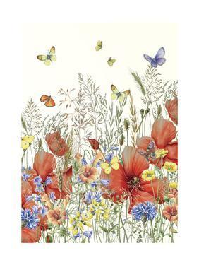 Poppies and Grasses by Janneke Brinkman-Salentijn