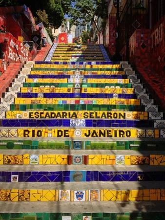 Selaron's Steps (Escadaria), Rio De Janeiro by jantima