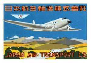 Japan Air Transport Label