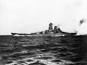 Japanese Battleship Yamato.