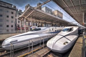 Japanese Bullet Trains