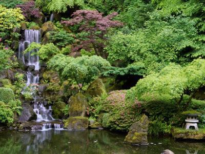 Japanese Gardens Washington Park Portland Oregon, USA