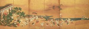 Chinese Children at Play, Edo Period by Japanese School