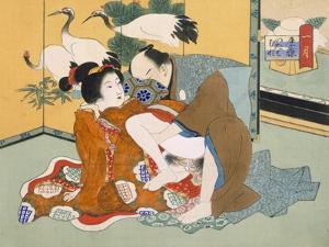 Couple Having Sex by Japanese School