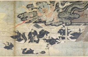 Demon Thunder, Tenjin Shrine, Kamakura Period by Japanese School