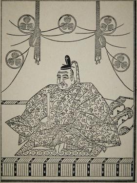 Portrait of Shogun Tokugawa Ieyasu in Court Dress by Japanese School