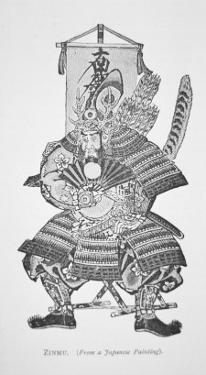 Samurai of Old Japan: Zinmu by Japanese School