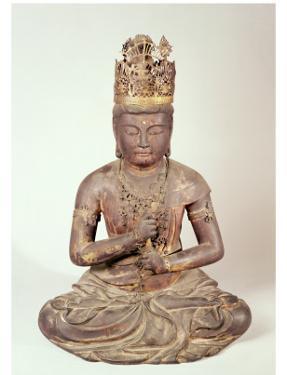 Seated Figure of Dainichi Nyorai by Japanese School