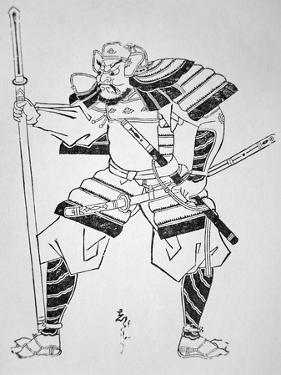 Unknown Japanese Warrior by Japanese School