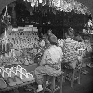 Japanese Shoe Shop, Early 20th Century