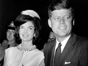 Jaqueline Kennedy, President John F. Kennedy, Ca. 1962