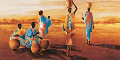 Apres-Midi en Afrique by Jaques Beaumont