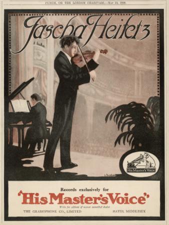 Jascha Heifetz American Violinist