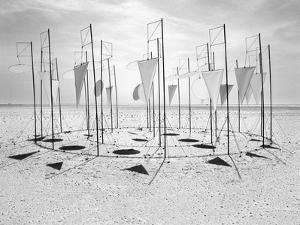 Wind-Installation II, 2015 by Jaschi Klein