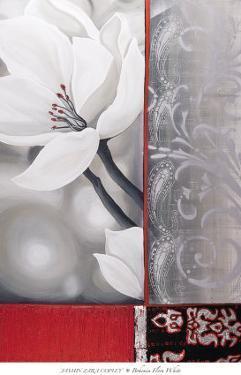 Bohemia Flora White by Jasmin Zara Copley