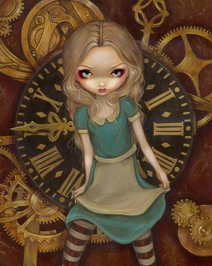 Alice and Clockworks by Jasmine Becket-Griffith