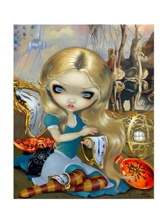 Alice in a Dali Dream by Jasmine Becket-Griffith